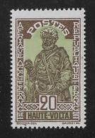 HAUTE VOLTA 1928 YT 49** - MNH - Unused Stamps