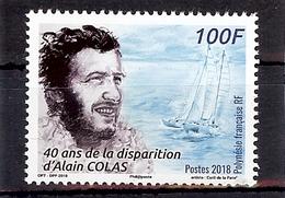 POLYNESIE  2018  40ème ANNIVERSAIRE DE LA DISPARITION D'ALAIN COLAS ** - Polynésie Française