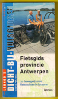 FIETSGIDS PROVINCIE ANTWERPEN 20 Lusvormige Fietstochten ©2002 191blz LANNOO Fiets Gids Fietsen Fietser Boek Z165 - Livres, BD, Revues