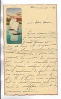 CHINE - Lettre Correspondance écrite De ARSENAL (TIENTSIN  ) Le 31/01/1938 - Belle Illustration  En Début De Page - Historical Documents
