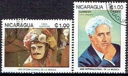 NICARAGUA # FROM 1985 STAMPWORLD 2671-72 - Nicaragua