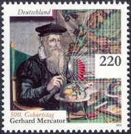 MERCATOR, G. - Germany 2012 Michel # 2918 ** MNH - Geographer, Mathematics, 500th Birthday Of Mercator - Geographie