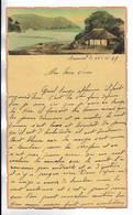 CHINE - Lettre Correspondance écrite De ARSENAL (TIENTSIN  ) Le 25/11/1936 - Belle Illustration  En Début De Page - Documentos Históricos