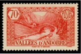 TIMBRE ANDORRE.FR - 1937 - NR 69 - NEUF - Nuovi