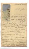CHINE - Lettre Correspondance écrite De ARSENAL (TIENTSIN  ) Le 13/12/1937 - Belle Illustration  En Début De Page - Documentos Históricos