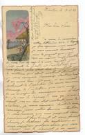CHINE - Lettre Correspondance écrite De TIENTSIN   Le 17/05/1936 - Belle Illustration  En Début De Page - Historical Documents