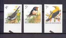 2474/2476 Buzin Vogels ONGETAND POSTFRIS**  1992 - Belgique