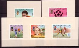 Soccer World Cup 1978 - Football - MAURITANIE - 5 S/S Imp. MNH - 1978 – Argentina