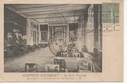 C.P.A.- PARIS - ASSEMBLÉE NATIONALE - LA SALLE MARENGO OU S'OPÈRE LE DÉPOUILLEMENT DU SCRUTIN - II - SÉANCE DU 13/6/1924 - Francia