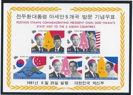 Corée - Bloc - Neuf Sans Charnière - 1981 - Korea (...-1945)