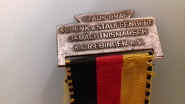 MEDAILLE COMMEMORATIVE CLAUS GRAF 1969 - Allemagne