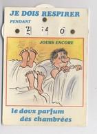CARTE A SYSTÈME - Le Doux Parfum Des Chambrées - Nombre De Jours - Humour Militaire - Calendrier De Classe - Humoristiques