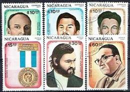 NICARAGUA # FROM 1987 STAMPWORLD 2798-03 - Nicaragua