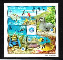 Pitcairn - 1998. Pescatori, Procellaria, Snorkeling, Pesci Della Barriera Corallina. Fishermen, Petrel, Coral Reef Fish. - Vacanze & Turismo
