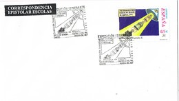 33404. Carta Exposicion Itiunerante 2002 SALAS De BUREBA, CASTRILLO REY, OVIEDO, HUERTA Del REY - 1931-Hoy: 2ª República - ... Juan Carlos I