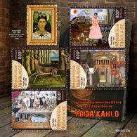 TOGO 2019 - F. Kahlo, Arrows. Official Issue - Tiro Al Arco