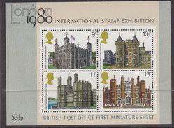 Great Britain 1980 London 1980 M/s ** Mnh (43468) - Blokken & Velletjes