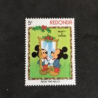 REDONDA. CHRISTMAS. MNH. 3R2508F - Disney