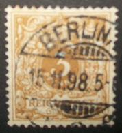 N°1293 TIMBRE DEUTSCHES OBLITERE - Alemania