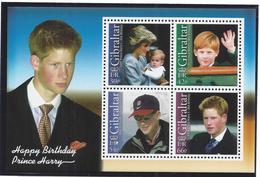 Gibraltar - Bloc Yt N° 52 - Neuf Sans Charnière - Le Prince Harry - 2002 - Gibilterra