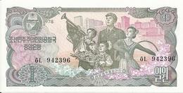 COREE DU NORD 1  WON 1978 UNC P 18 B - Korea, North