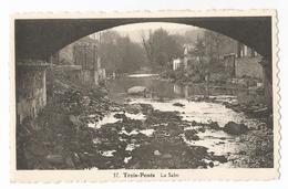 Trois-Ponts La Salm Carte Postale Ancienne - Trois-Ponts