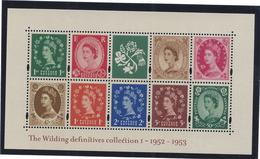 Grande Bretagne - Bloc - Neuf Sans Charnière - The Wilding Definitives Collection - 1952 Et 1953 - Blocs-feuillets