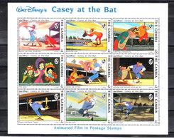 Gambia  - 1993. Baseball. Casey Il Battitore, The Bat. MNH - Disney