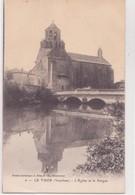 CPA - 6 -LE THOR ( Vaucluse ) - L' Eglise Et La Sorgue - France