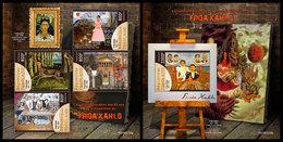 TOGO 2019 - F. Kahlo, Cacti M/S + S/S. Official Issue - Sukkulenten