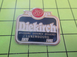 411i Pin's Pins / Beau Et Rare : THEME : ALIMENTATION / DIEKIRCH BRASSERIE LUXEMBOURG 1871 1991 - Food