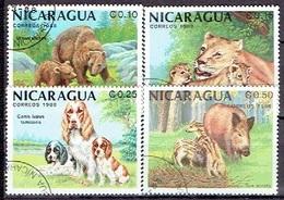 NICARAGUA # FROM 1988 STAMPWORLD 2927-30 - Nicaragua