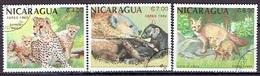 NICARAGUA # FROM 1988 STAMPWORLD 2931-33 - Nicaragua