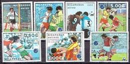 NICARAGUA # FROM 1988 STAMPWORLD 2935-41 - Nicaragua