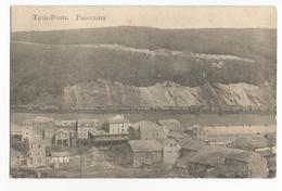 Trois-Ponts Panorama Carte Postale Ancienne Wagons - Trois-Ponts