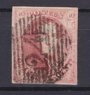 N° 8 Margé  :  24 Bruxelles - 1851-1857 Medaillen (6/8)