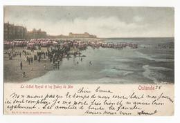 Oostende Les Bains De Mer Et Le Châlet Royal PK Ostende CPA - Oostende