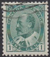 Canada 1903 Used Sc 89 1c Edward VII - 1903-1908 Règne De Edward VII