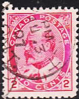 Canada 1903 Used Sc 90 2c Edward VII - 1903-1908 Règne De Edward VII
