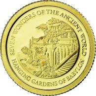 Monnaie, Îles Salomon, Elizabeth II, Jardins Suspendus De Babylone, 5 Dollars - Salomon