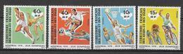 AFARS ET ISSAS - SPORTS / JEUX OLYMPIQUES - YVERT 431/434 ** MNH - COTE = 7.5 EUR. - Afars Et Issas (1967-1977)