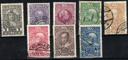 Austria Nº 119/24, 126/7. Año 1910 - 1850-1918 Empire