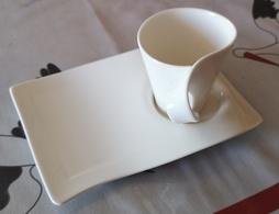 5 Tasses Et Sous-tasses NewWave Villeroy Et Boch - Cups