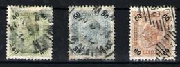 Austria Nº 74, 75b, 76. Año 1899/902 - 1850-1918 Imperio