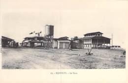 DJIBOUTI - La Gare - CPA - Afrique Noire - Black Africa - Gibuti