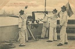 Marine Militaire Française - Les Signaux à Bras - Guerre