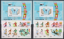 Soccer World Cup 1978 - Footbal - HUNGARY - S/S+Set Perf.+imp. MNH - Coppa Del Mondo