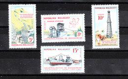 Madagascar  - 1962. Energia: Petrolio, Gas, Atomo. Energy: Oil, Gas, Atom. Complete MNH Series - Petrolio