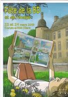 Carte Postale TERNON Cyrille Festival Bd Flers De L'Orne 2019 (Placerville - Cartes Postales
