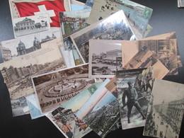 Lot De 45 Cartes Etrangeres - Postkaarten